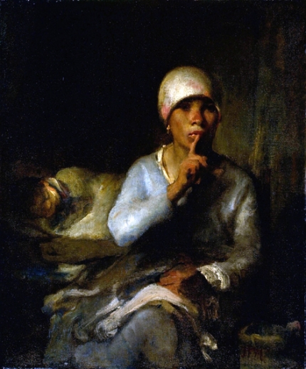 Woman and Child (Silence)