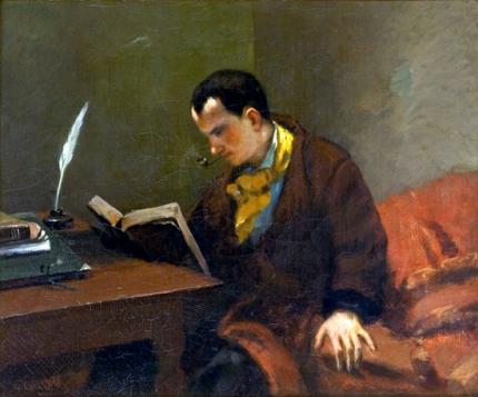 シャルル・ボードレールの肖像