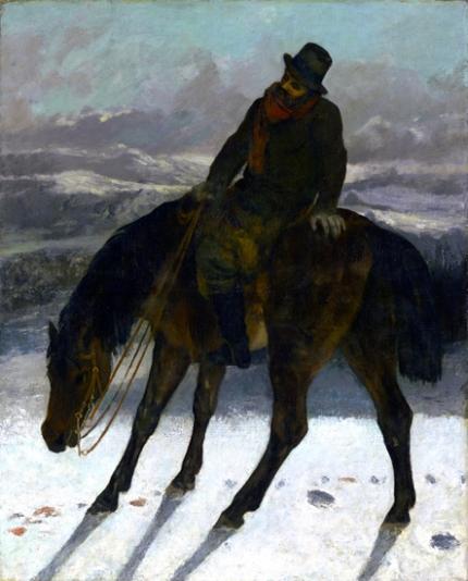 Hunter On Horseback 1864