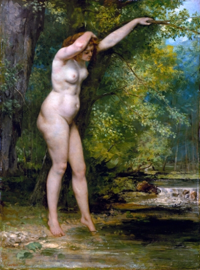 The Young Bather 1866
