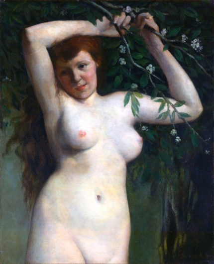 Nude with Flowering Branch 1863