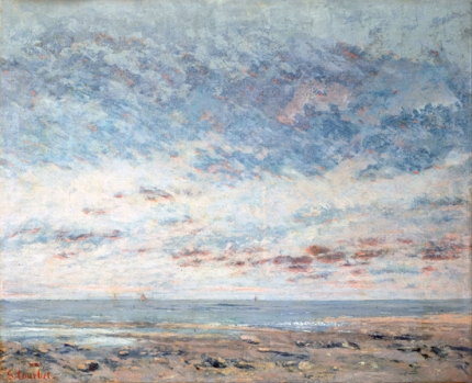 Low Tide at Trouville 1865