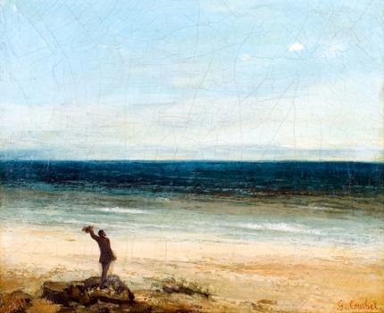 The Seaside at Palavas 1854