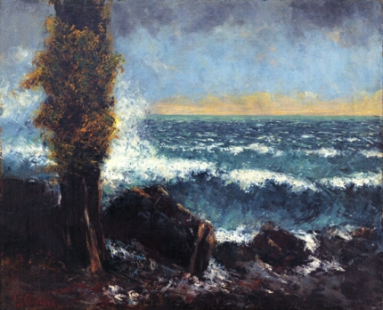 Seascape, the Poplar