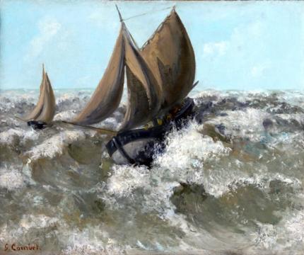 The Sailboat (Seascape) 1869