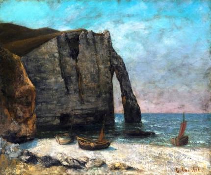 The Cliff at Étretat