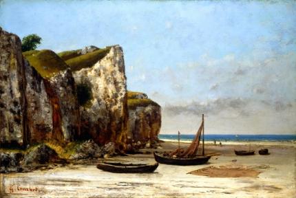 ノルマンディーの海岸