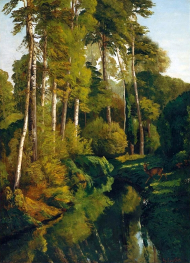 Stream in the Forest 1862