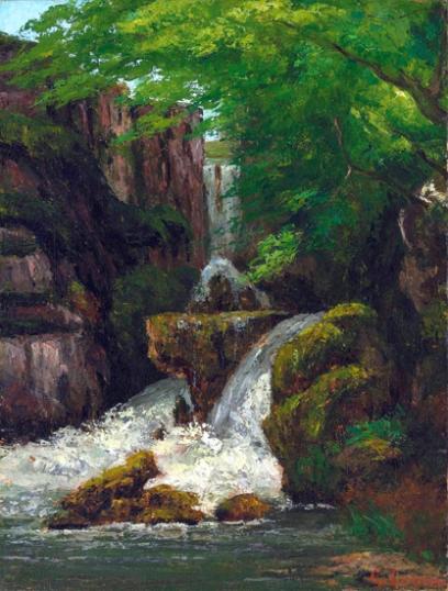 Falaises Et Cascades 1875