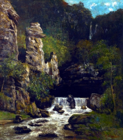 Landscape with a Waterfall 1865