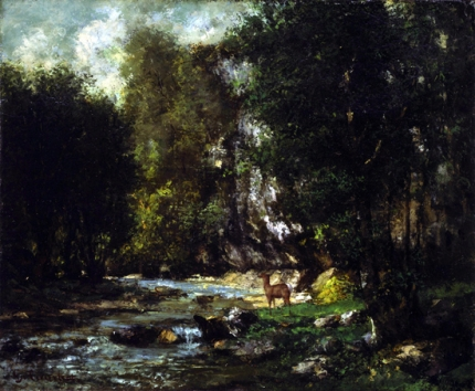 The Brook of Les Puits-Noir 1855