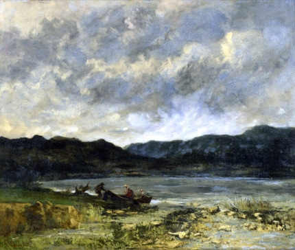 The Lake, Near Saint-Point, 1872