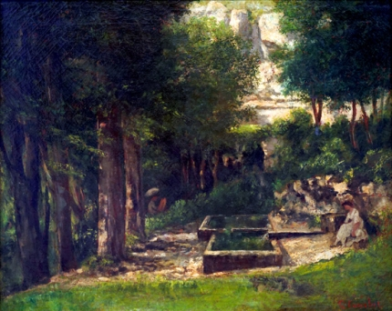 The Spring in Fouras 1863