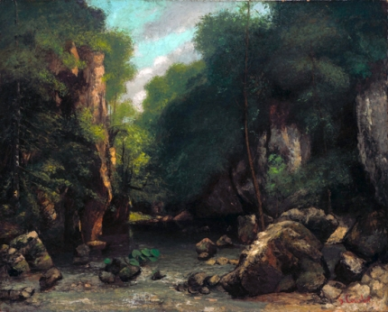 The Valley of Les Puits-Noir 1868