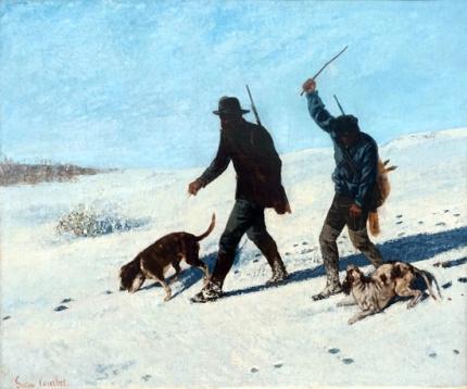 Poachers in the Snow 1867