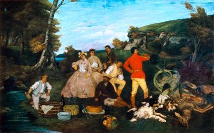 The Hunt Breakfast 1858