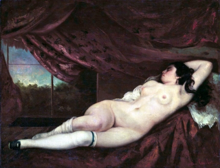 Nude Reclining Woman 1862