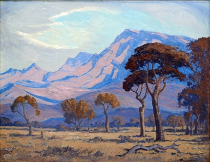 Trees in a Lowveld Mountainous Landscape