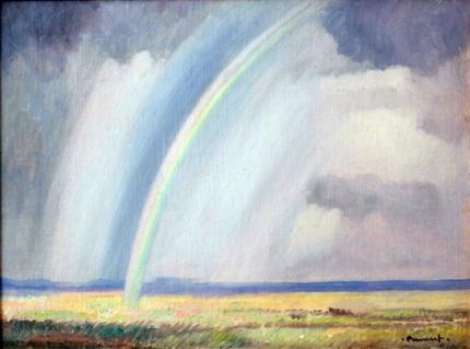 Rainbow Over the Springbok Flats