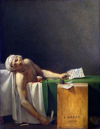 Marat Assassinated 1793