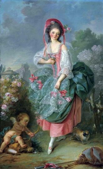 Mademoiselle Guimard as Terpsichore
