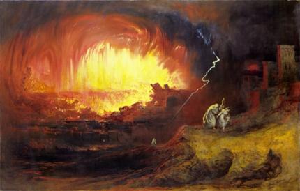 ソドムとゴモラの滅亡末
