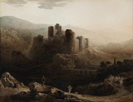Moonlight - Chepstow Castle