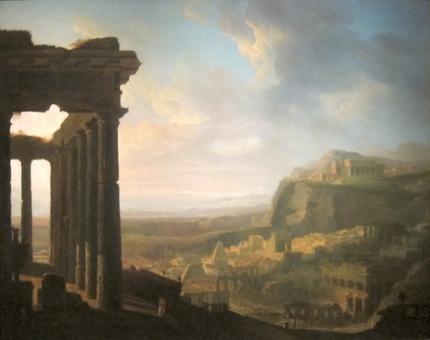 古代都市の遺跡