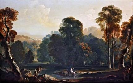 A landscape composition