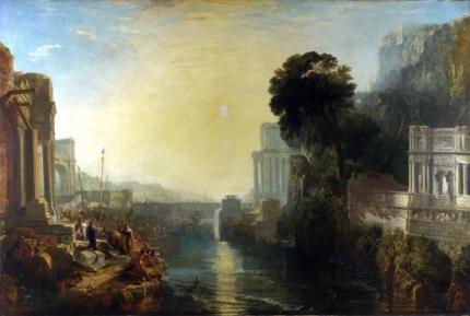 Dido building Carthage 1815