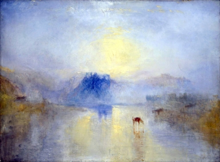 Norham Castle, Sunrise 1845