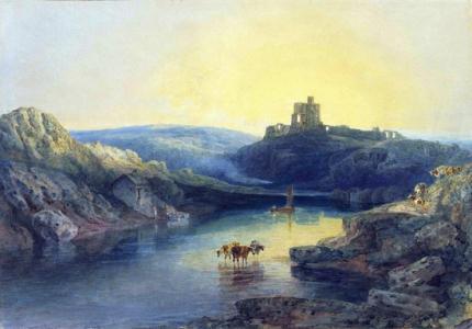 Norham Castle- Sunrise