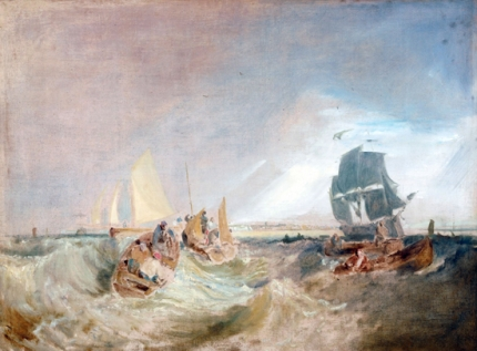 Shipping at the Mouth of the Thames 1806