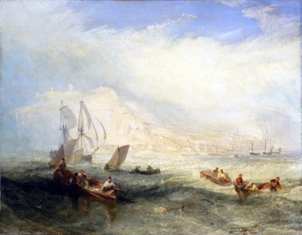 Line Fishing, Off Hastings 1836