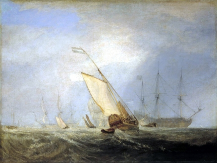 Van Tromp Returning after the Battle off the Dogger Bank