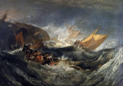 The Wreck of a Transport Ship 1810