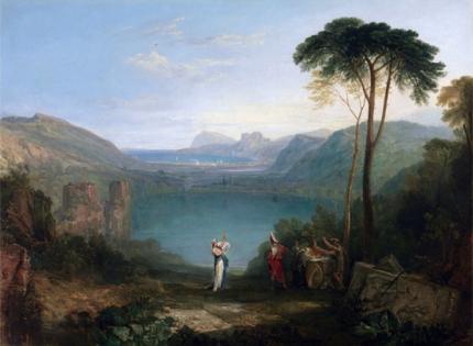 Lake Avernus- Aeneas and the Cumaean Sybil