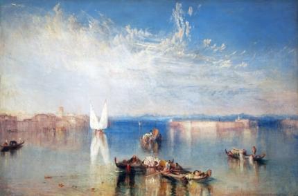The Campo Santo, Venice 1842