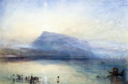 The Blue Rigi- Lake of Lucerne, Sunrise 1842
