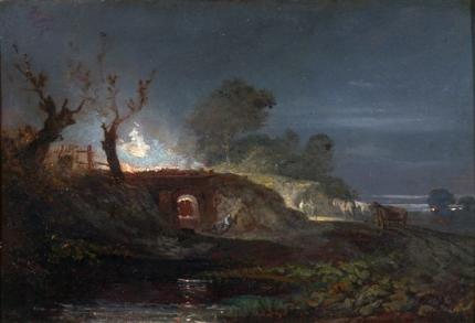 Limekiln at Coalbrookdale 1797