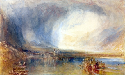 Flüelen, from the Lake of Lucerne 1840