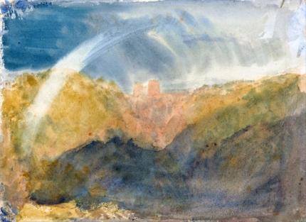 Crichton Castle (Mountainous Landscape with a Rainbow) 1818