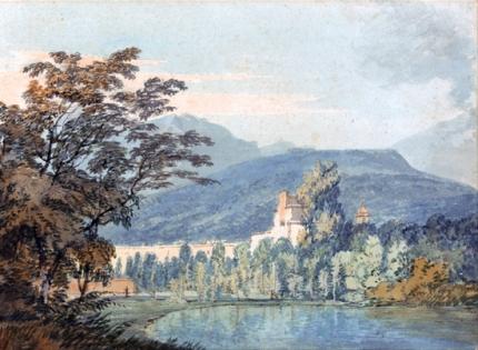 Sir William Hamilton's Villa 1795