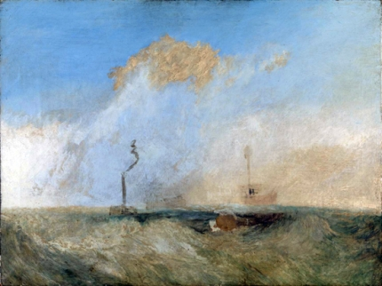 Steamer and Lightship
