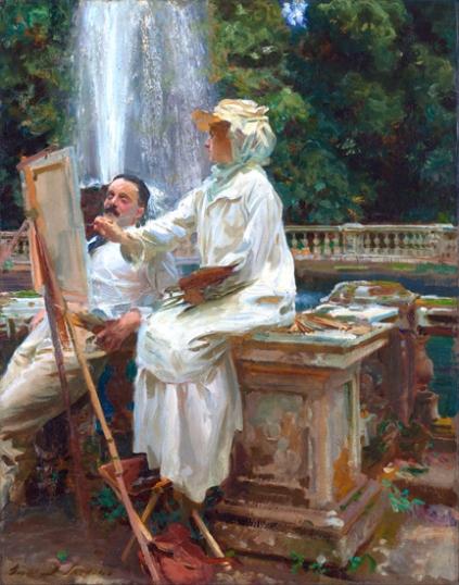 The Fountain, Villa Torlonia, Frascati, Italy 1907