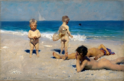 Neapolitan Children Bathing 1879