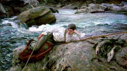 On His Holidays, Norway 1901