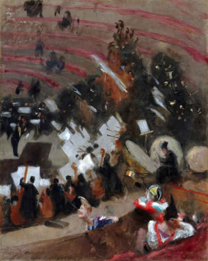 Rehearsal of the Pasdeloup Orchestra at the Cirque D'hiver 1879