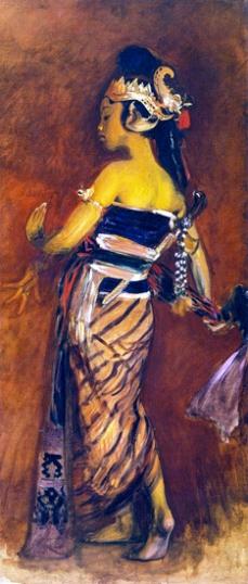 A Javanese Dancer 1889-3