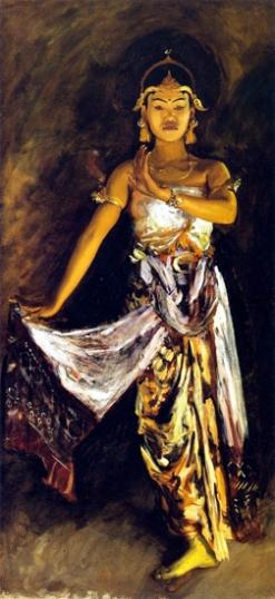 A Javanese Dancer 1889-5